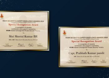 awards received by our mentors for protection services at workplaces